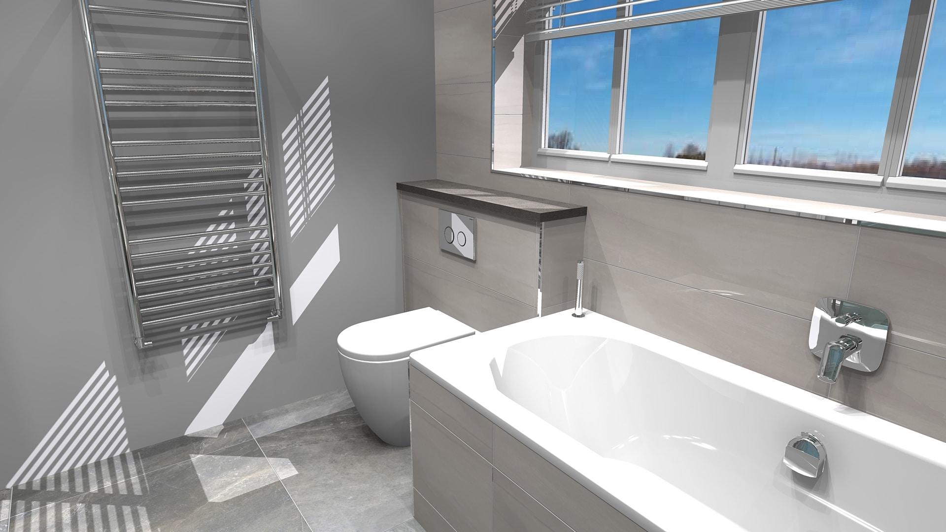 Chessington Pipeline Mir Family Bathroom